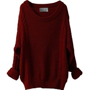 Cashmere Oversized LooseSweater